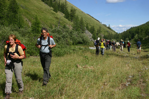 Trekking in Mongolia