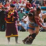 Naadam festival in western Mongolia