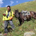 Horse riding in Altai Tavan Bogd national park