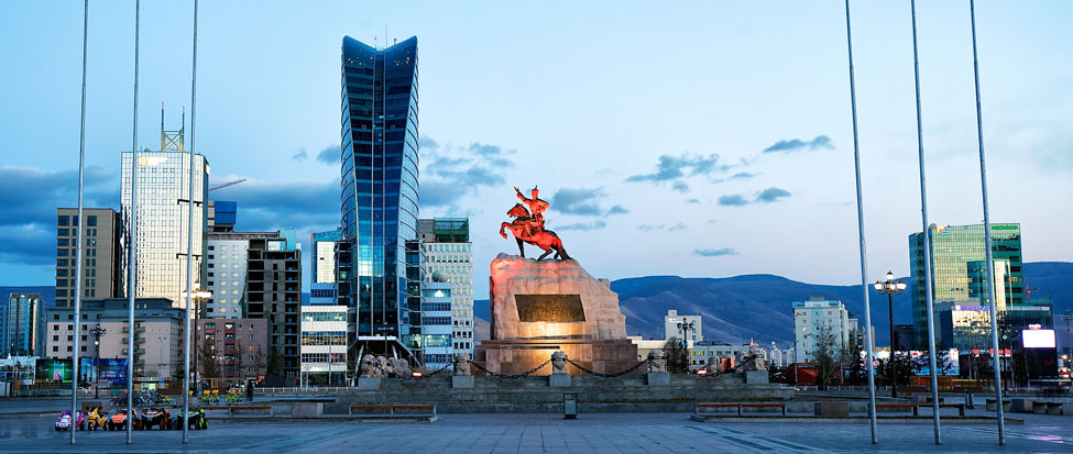 The best hotel in Ulaanbaatar, Mongolia