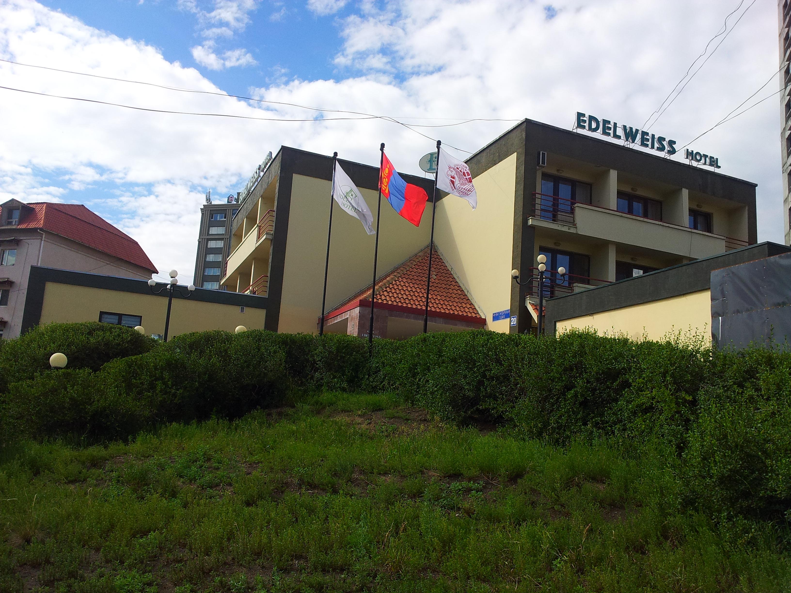Edelweiss hotel in Ulaanbaatar city