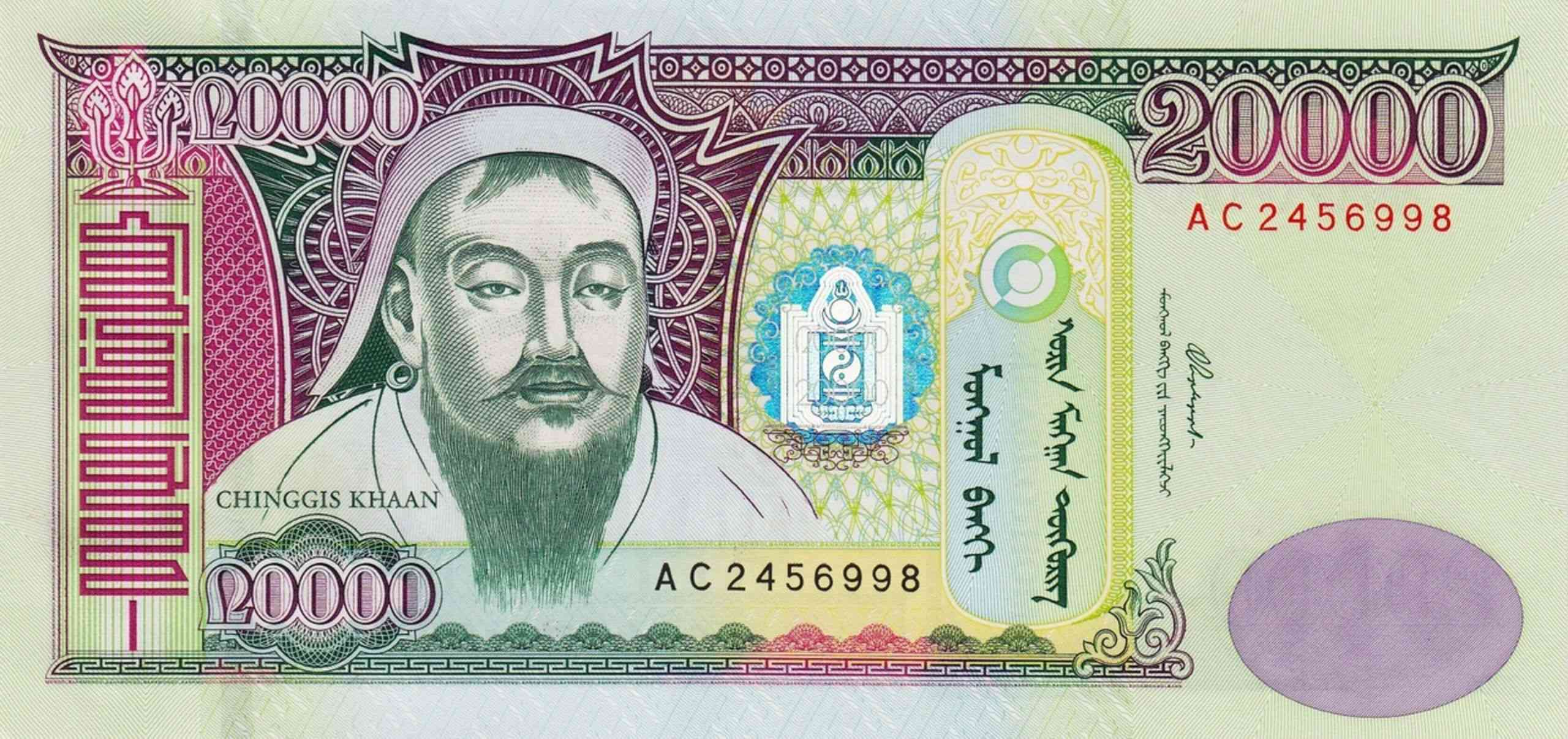 Currency in Mongolia