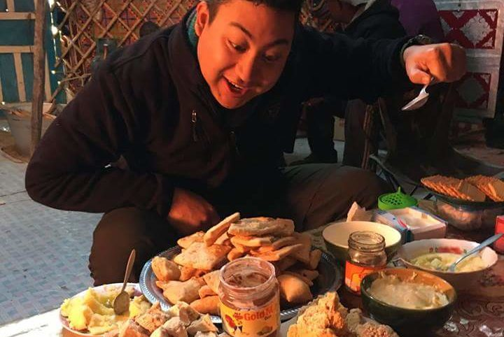 Traditional food in Mongolia