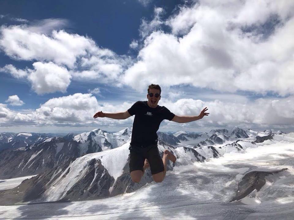 Altai mountains in Mongolia