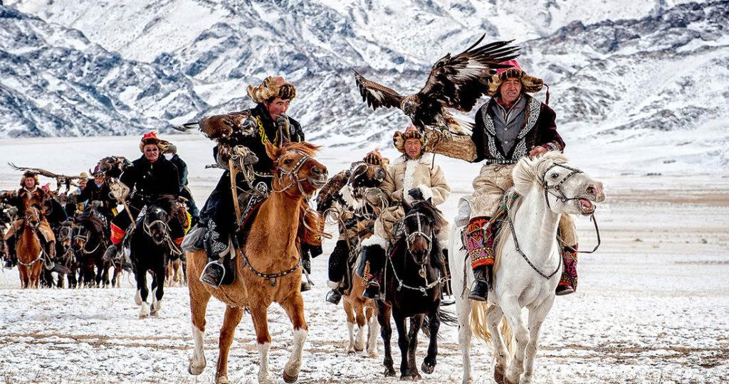 Eagle festival in Mongolia