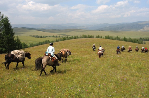 Horse trail tours