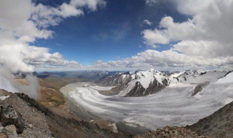 Potaniinii glacier