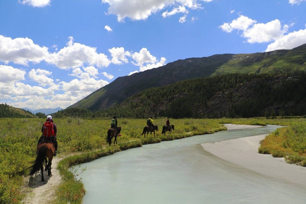 bear valley in western mongolia