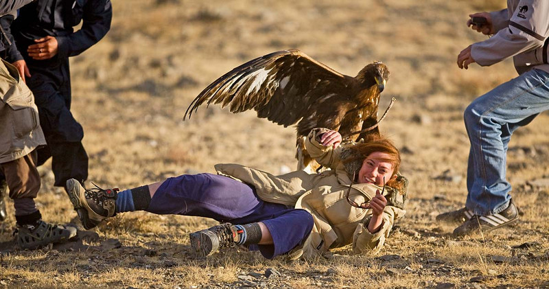 Eagle festival in Mongolia