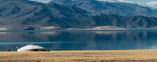 tolbo lake in mongolia