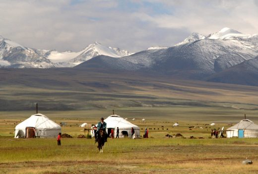 Nomads of Mongolia