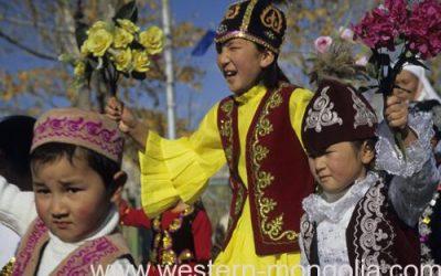 Nauryz festival in Mongolia