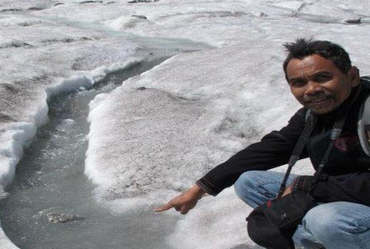 Glacier in Altai Tavan Bogd national park